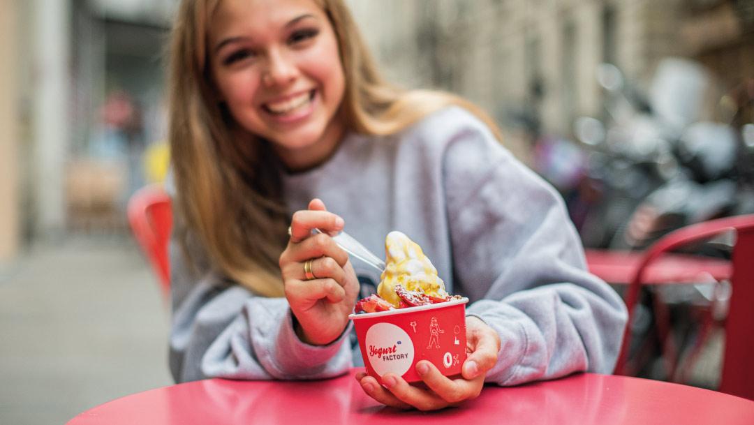Les délices glacés de Yogurt Factory