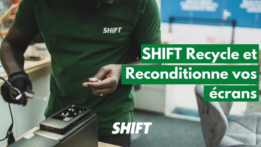 Faites réparer vos écrans chez Shift !