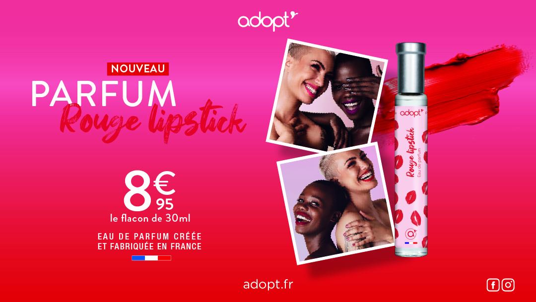 Découvrez notre nouveau parfum pour l'Opération « Rouge Lipstick »