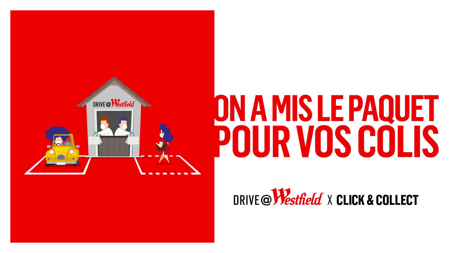 LE DRIVE @ WESTFIELD ROSNY 2