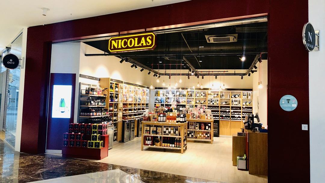 Nouvelle boutique Nicolas