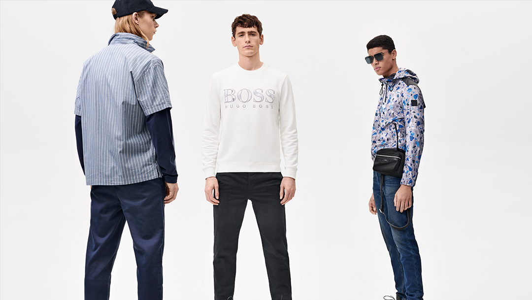 GALERIES LAFAYETTE - Nouvelle collection BOSS