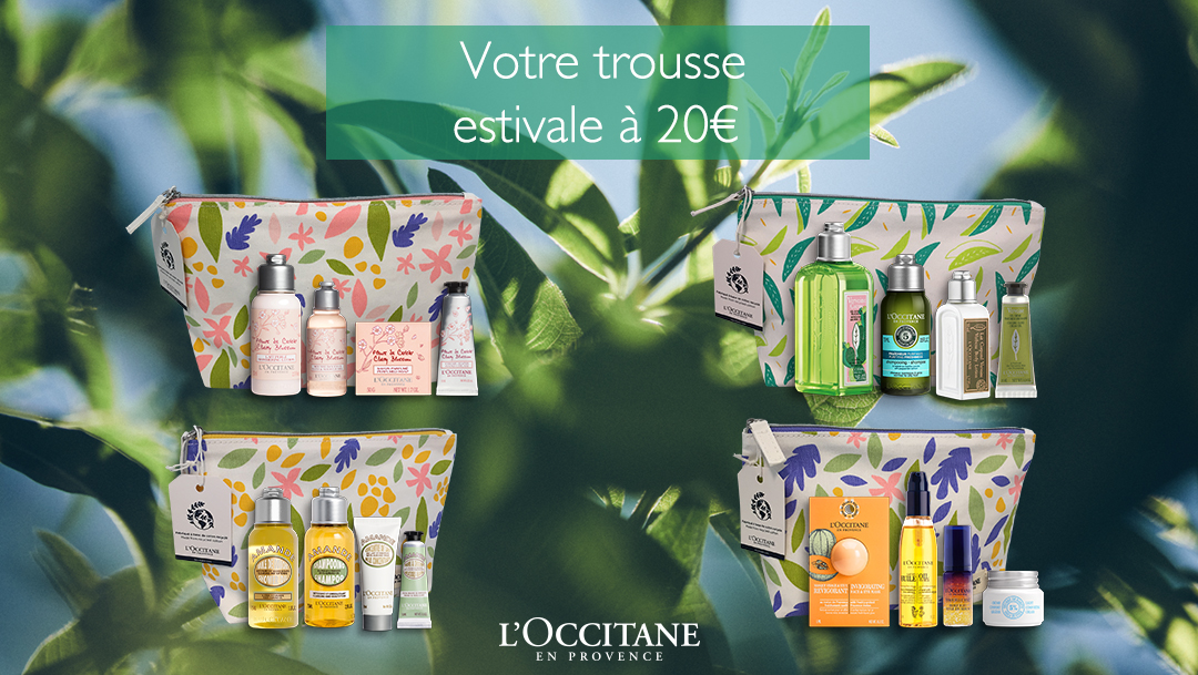 L'OCCITANE - TROUSSES ESTIVALES