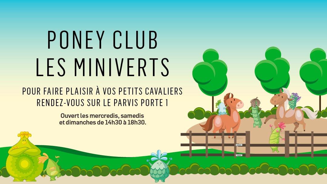 LE PONEY CLUB EST DE RETOUR !