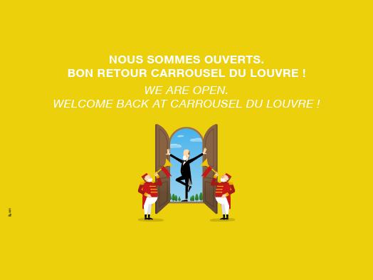 Bon retour au Carrousel du Louvre
