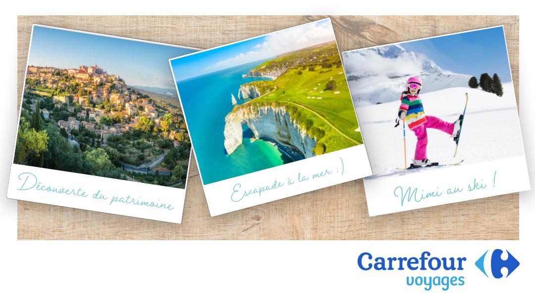 Offre Carrefour Voyages