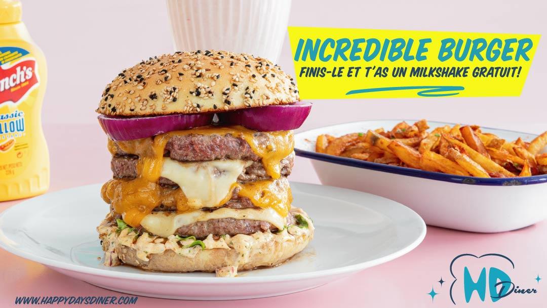 L'Incredible burger HD Diner