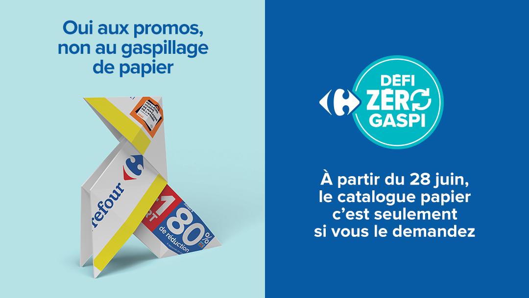 Défi zéro gaspi avec Carrefour
