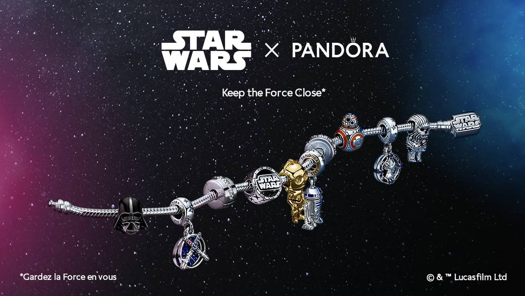 Star Wars x Pandora