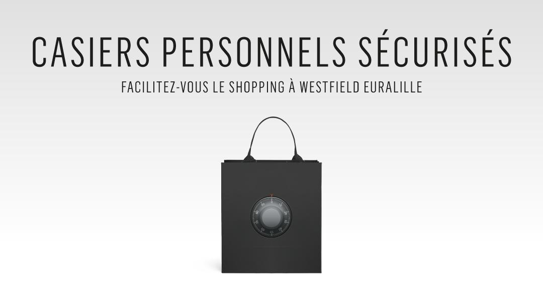Service consigne, facilitez-vous le shopping !