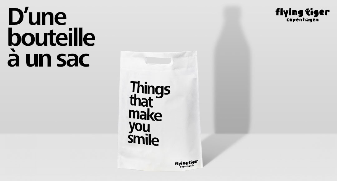 Nouveaux sacs 100% recyclables