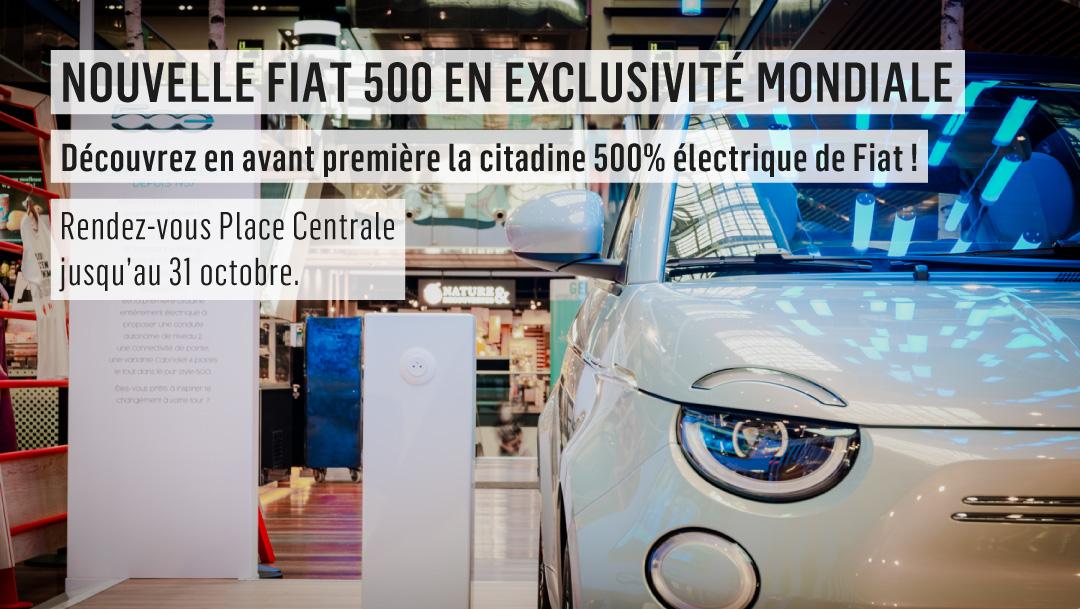 Nouvelle Fiat 500 en exclusivité mondiale !