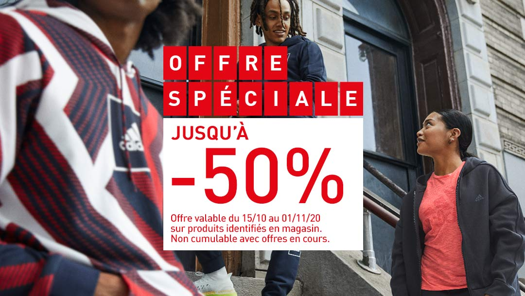 ADIDAS - OFFRE SPECIALE