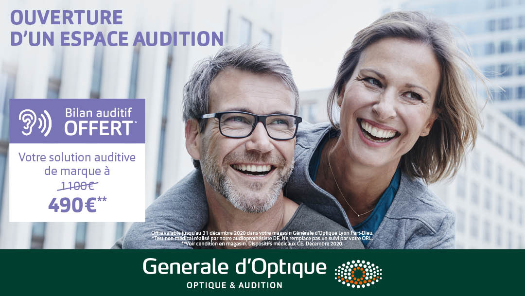 GENERALE D'OPTIQUE - OFFRE SOLUTION AUDITIVE