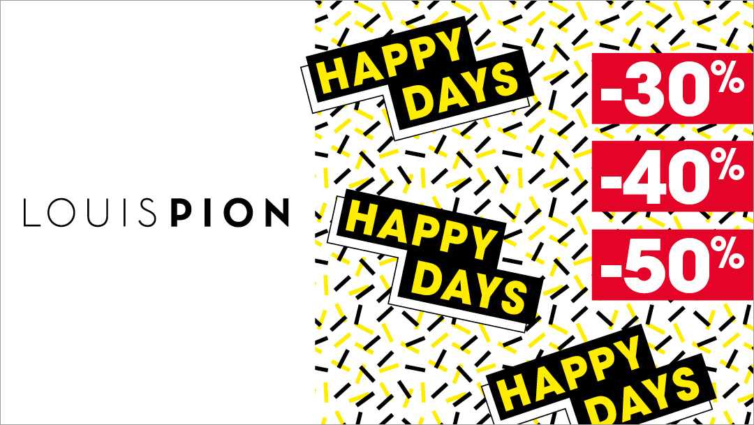 LOUIS PION - HAPPY DAYS