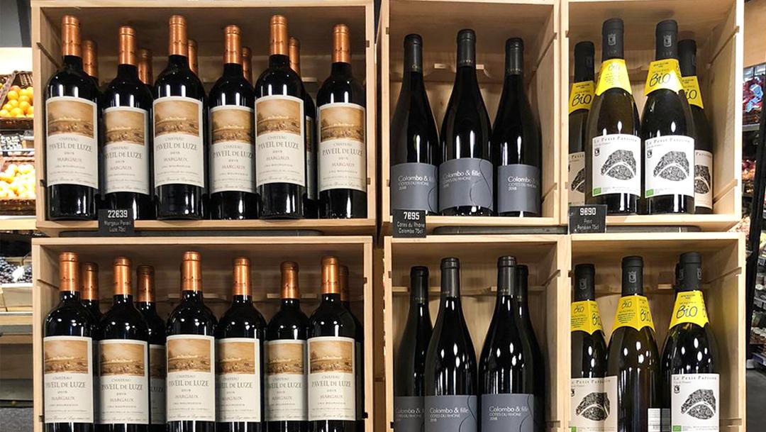 c'est la foire aux vins à Monoprix !