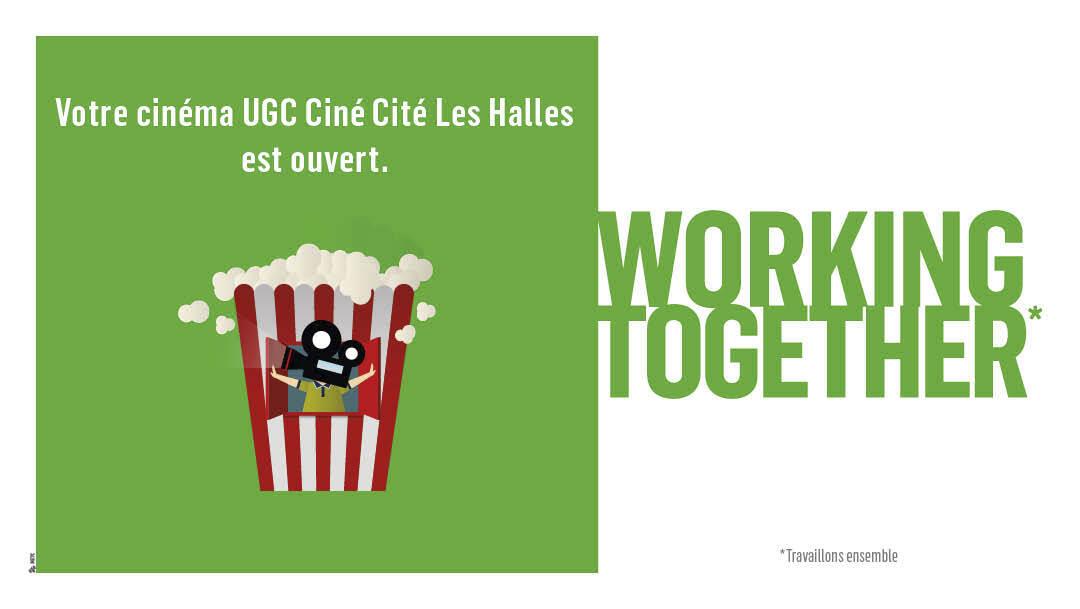 VOTRE CINEMA UGC CINÉ CITÉ LES HALLES DE NOUVEAU OUVERT !