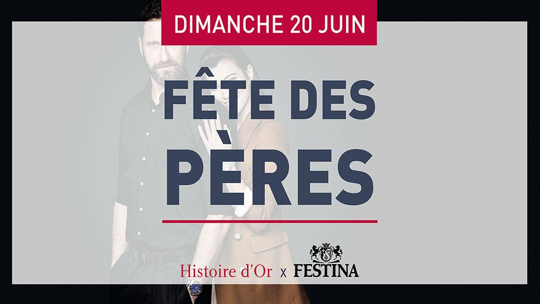 HISTOIRE D'OR - FÊTE DES PÈRES