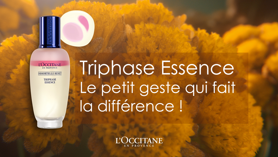 L'Occitane nouvelle essence triphasée