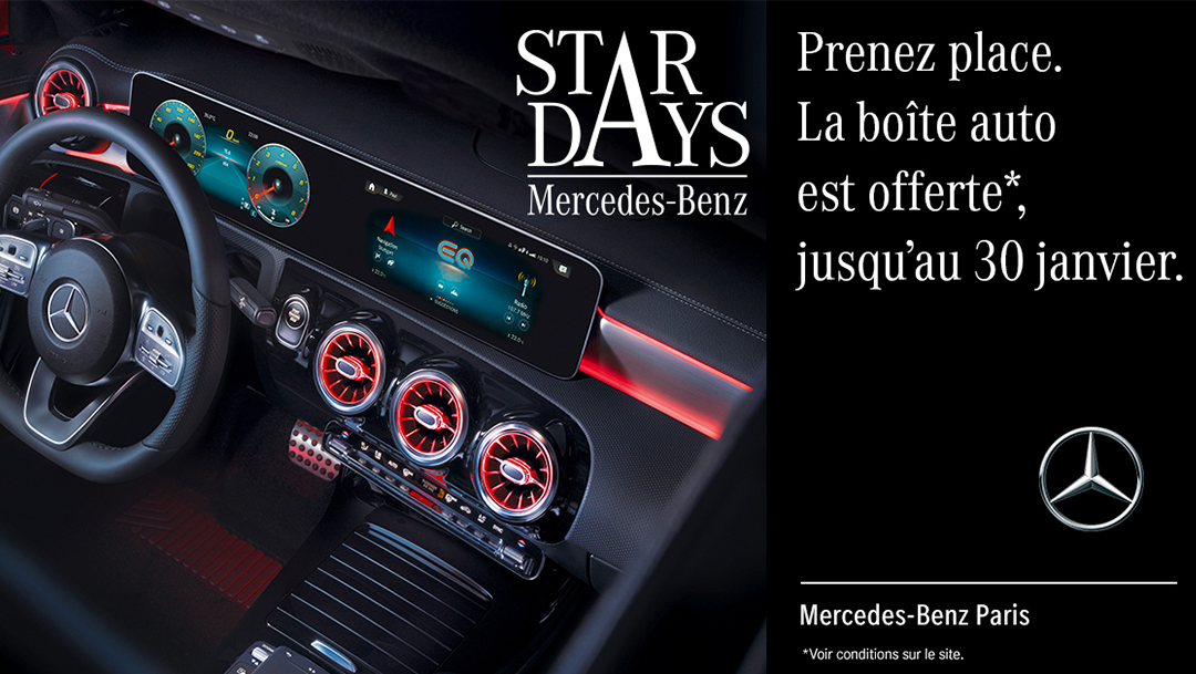 Mercedes - Les offres Star Days