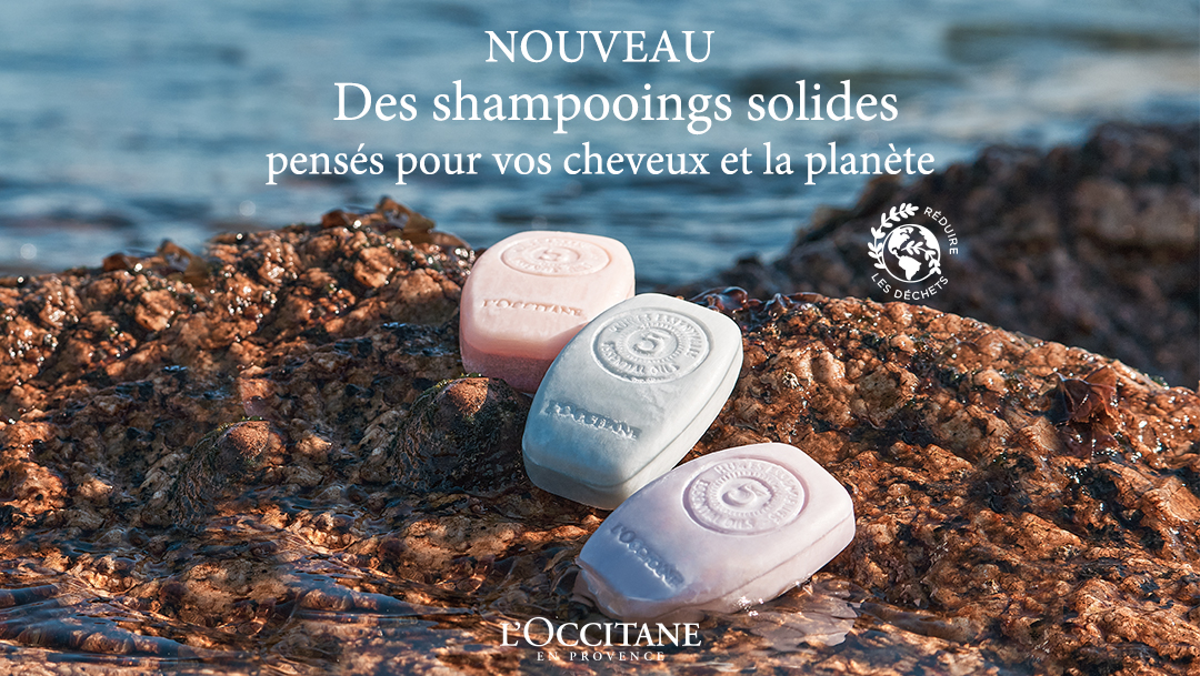 Vitrine Hair Care - L'Occitane en Provence