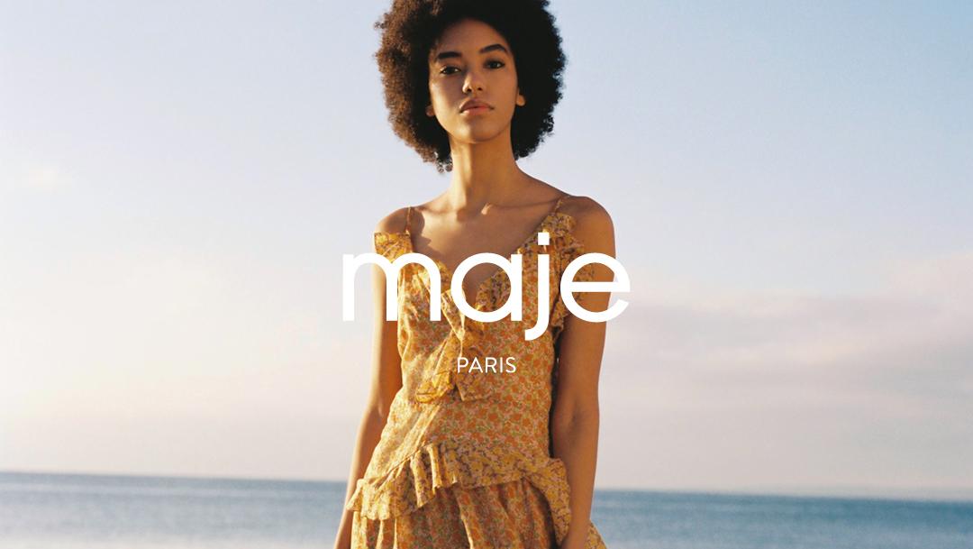 Du coton bio dans votre boutique Maje !