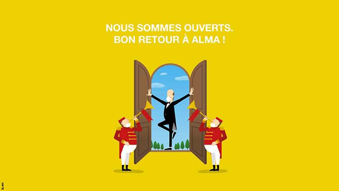 Bon retour à Rennes Alma !