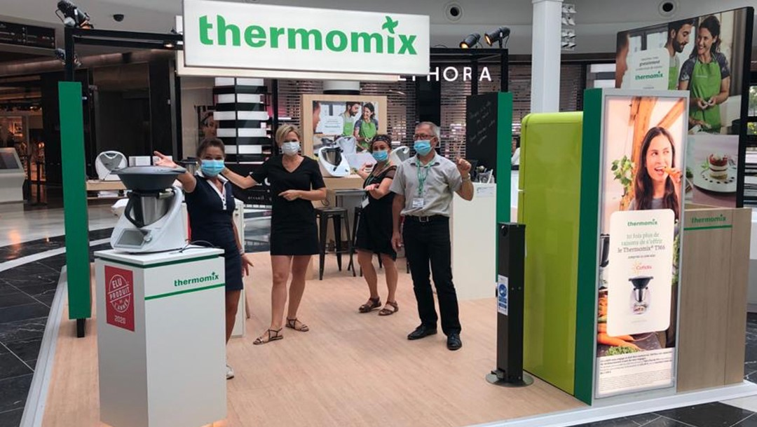 Pop-up Thermomix