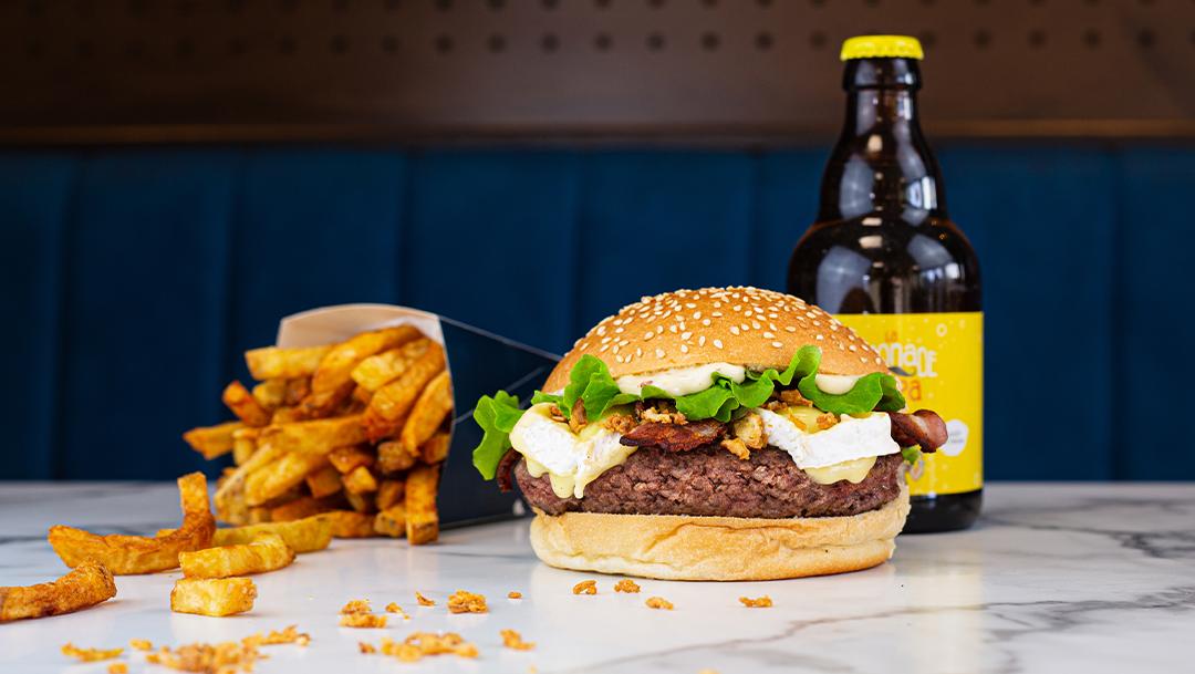 Le nouveau burger Les Burgers de Papa