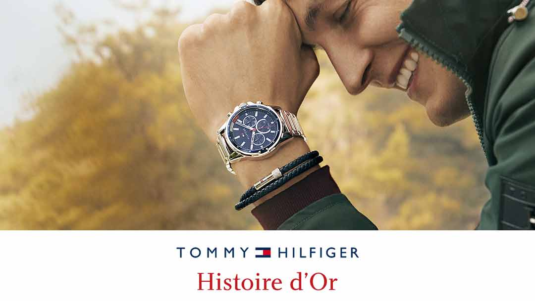 Découvrez les montres TOMMY HILFIGER à HISTOIRE D'OR