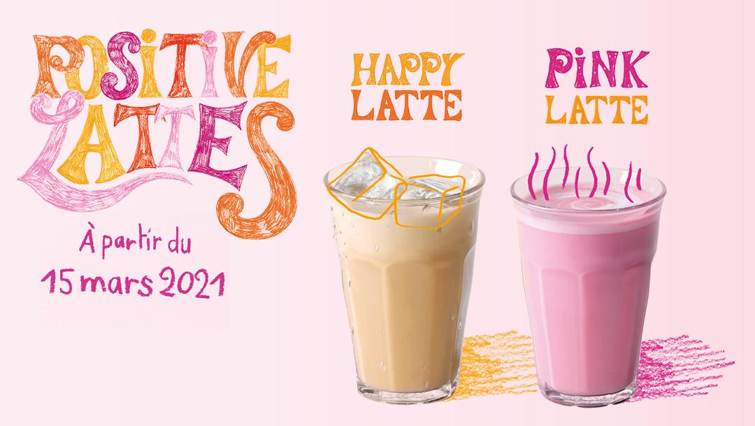 Découvrez le Pink Latte !