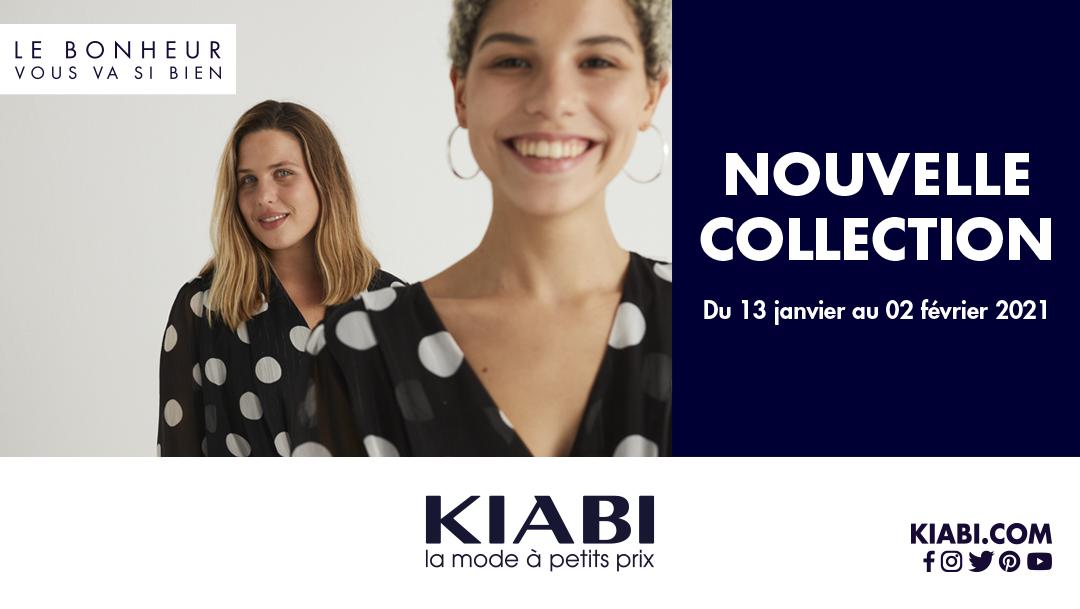 Nouvelle collection dans votre boutique Kiabi !