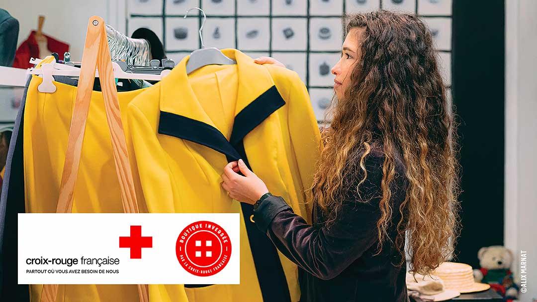 La Boutique Inversée de la Croix-Rouge française ouvre ses portes à Westfield Rosny 2 : soutenez l'association en venant déposer vos vêtements… ou en chiner !