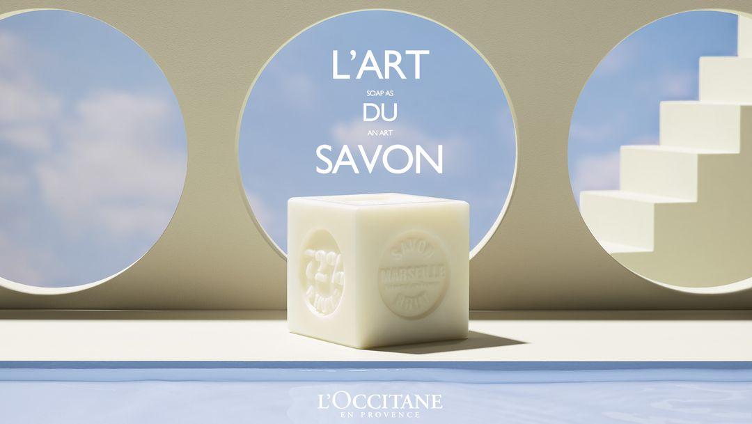 Découvrez les savons solides L'Occitane !