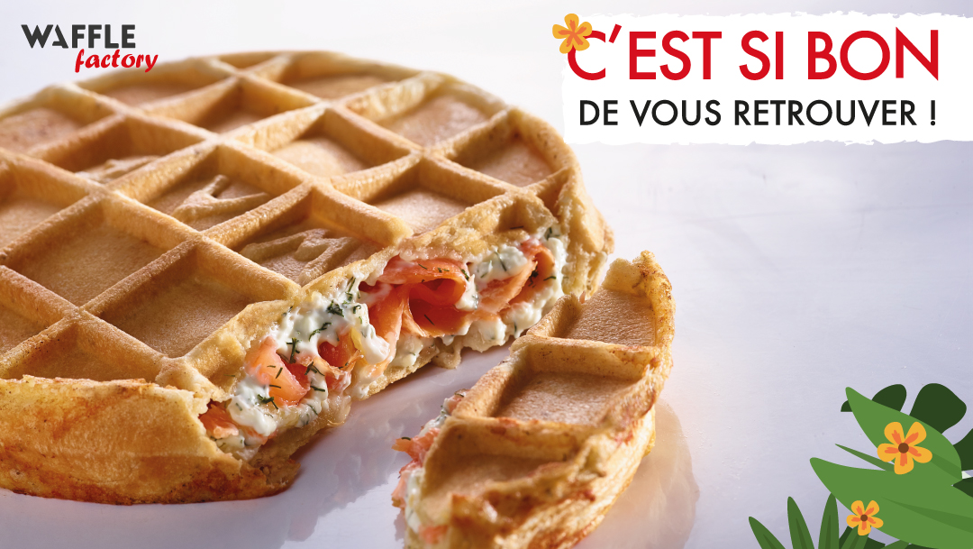 Waffle Factory rouvre ses portes !