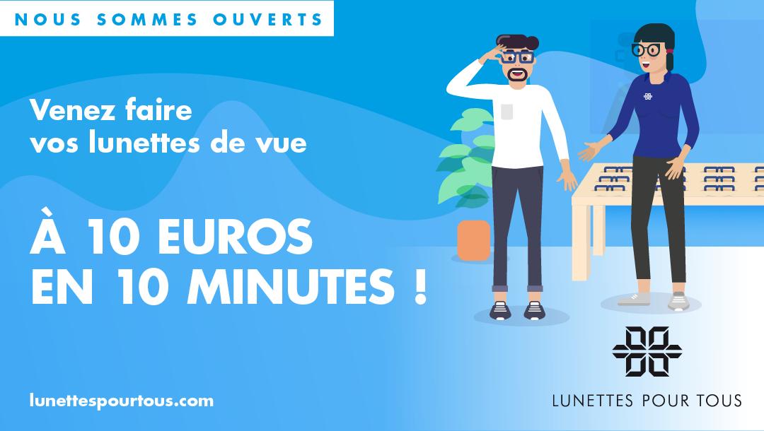 Lunette Pour Tous ouvre ses portes !