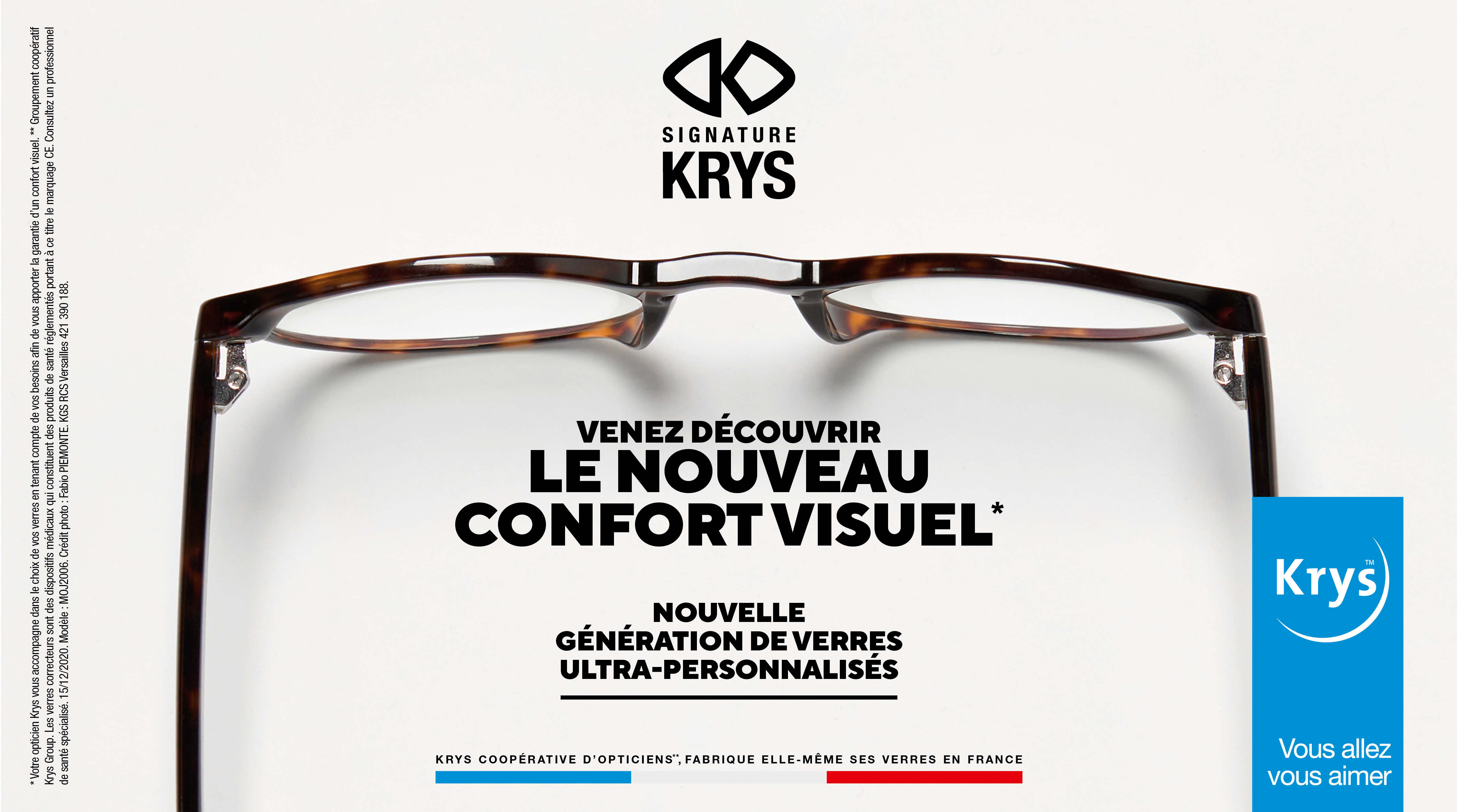 Retrouvez le confort visuel avec Krys !