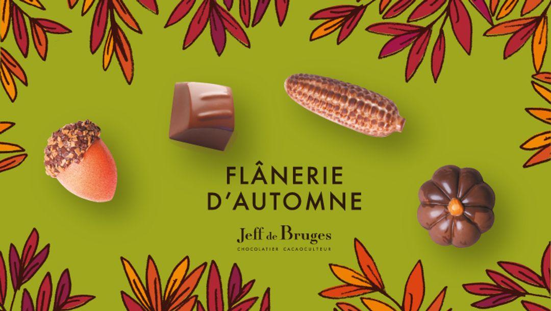 Les incontournables chocolats d'automne chez Jeff de Bruges !