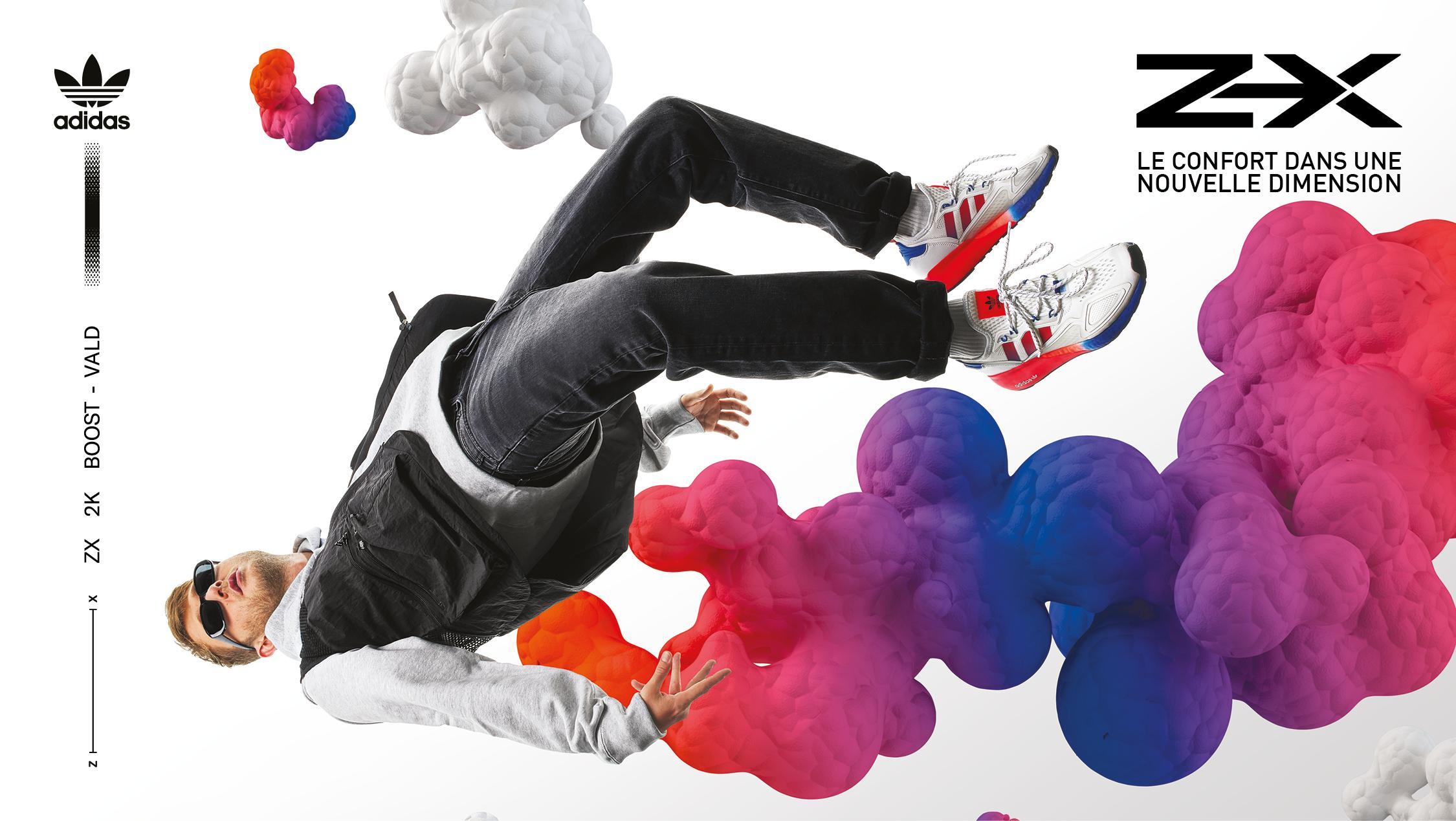 Découvrez la ZX 2K BOOST dans votre boutique Adidas !
