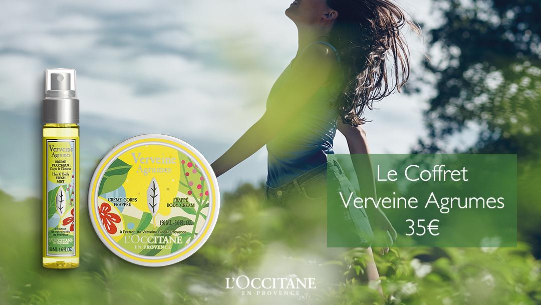 Découvrez la gamme Verveine Agrumes chez L'Occitane !