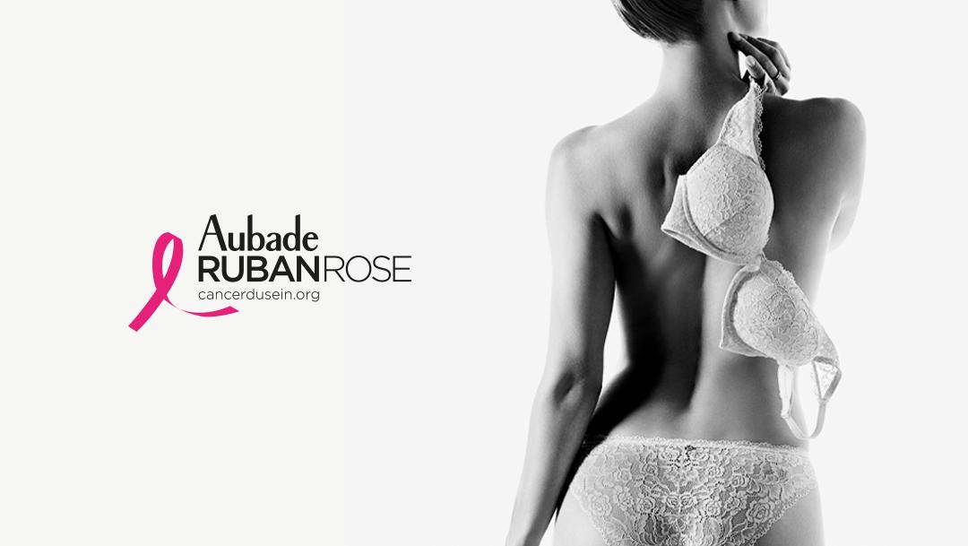 AUBADE - Ruban Rose