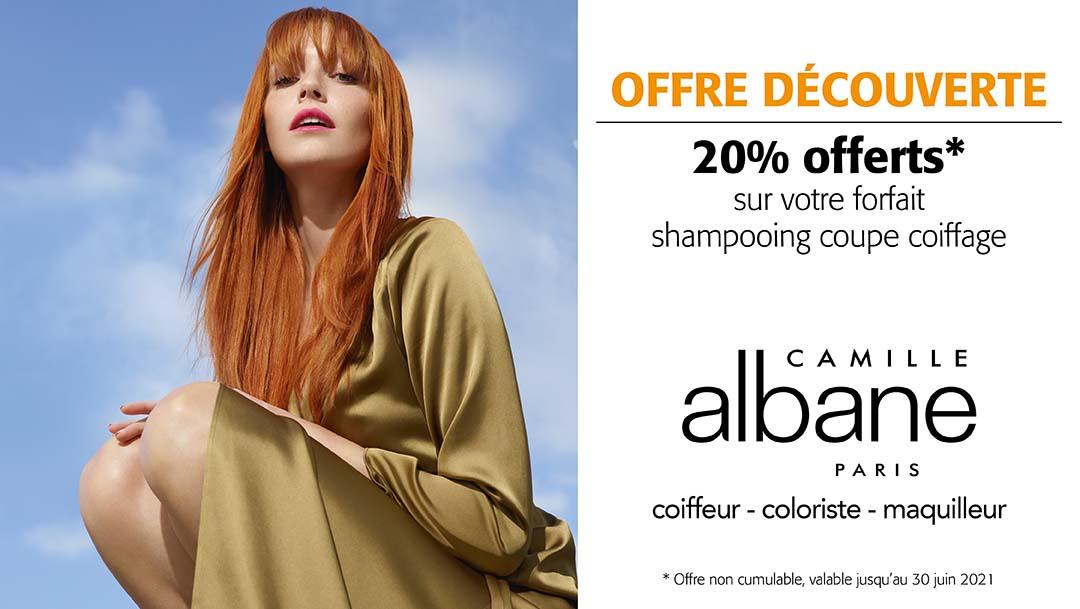 Votre salon de coiffure Camille Albane vous attend !