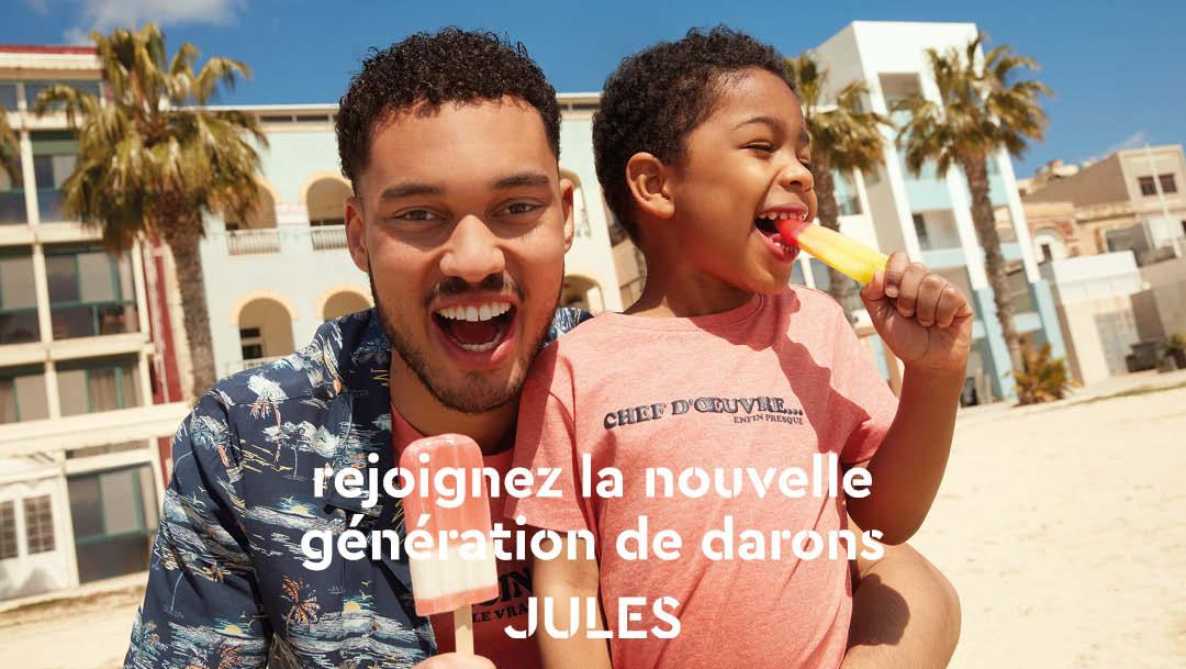 La nouvelle génération de papa débarque dans votre boutique Jules !
