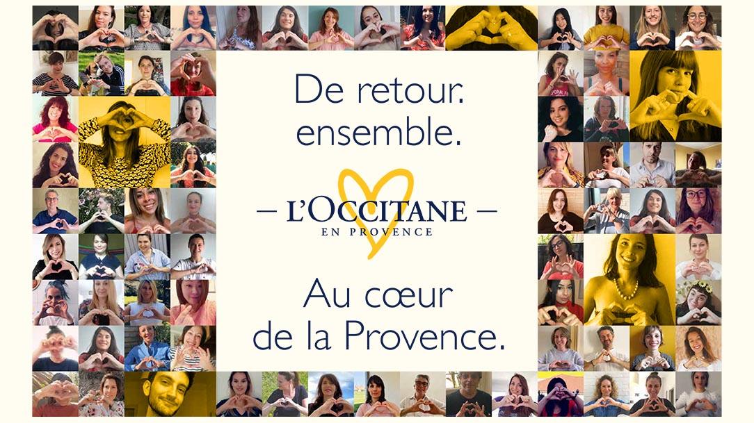 De retour. Ensemble. Au cœur de la Provence.
