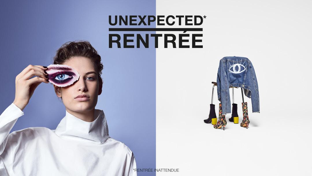 UNEXPECTED RENTRÉE