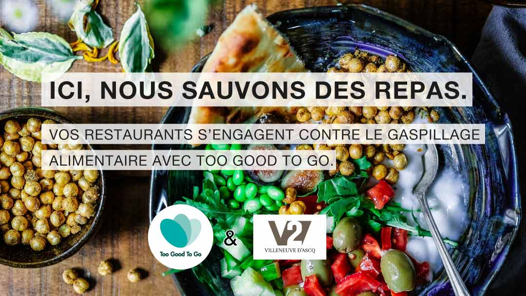 V2 S'ENGAGE CONTRE LE GASPILLAGE ALIMENTAIRE !