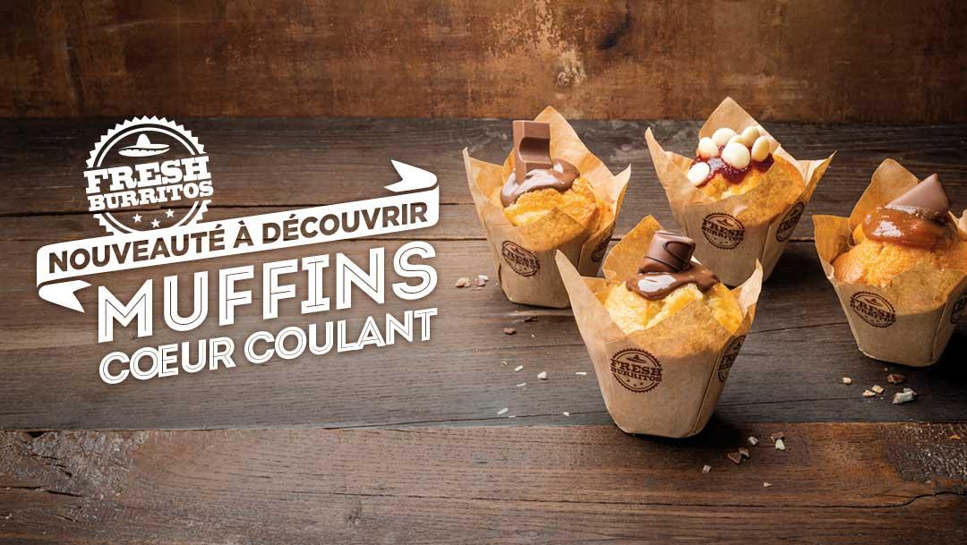 FRESH BURRITOS - LES MUFFINS