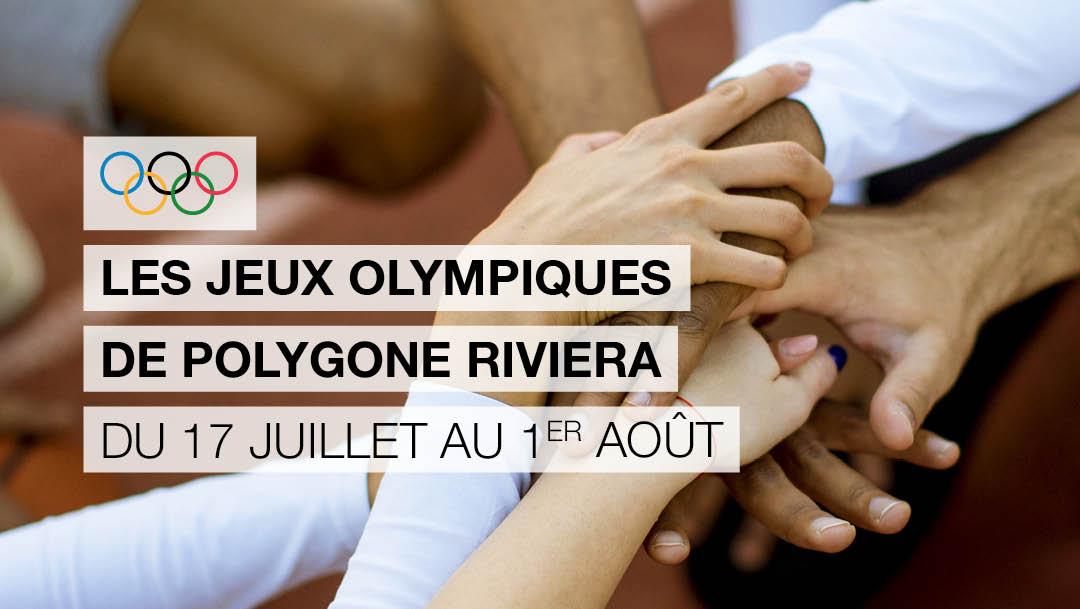 Les Jeux Olympiques débarquent dans votre centre !