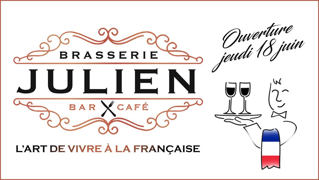 Nouveau restaurant - La Brasserie Julien