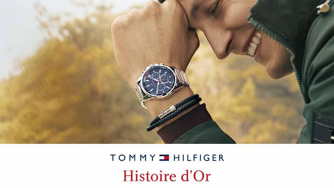 Dans votre boutique Histoire d'Or, découvrez les montres TOMMY HILFIGER !